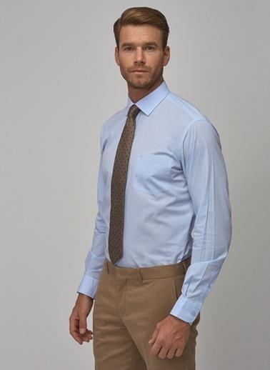 Altınyıldız Classics Regular Fit Klasik Gömlek 4A2000000003 Mavi